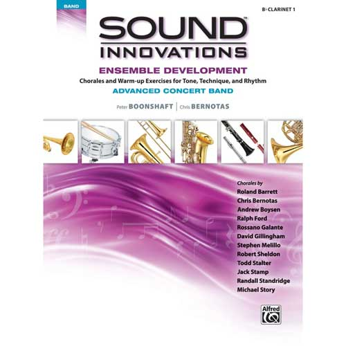 Sound Innovations for Advanced Band Clarinet 1
