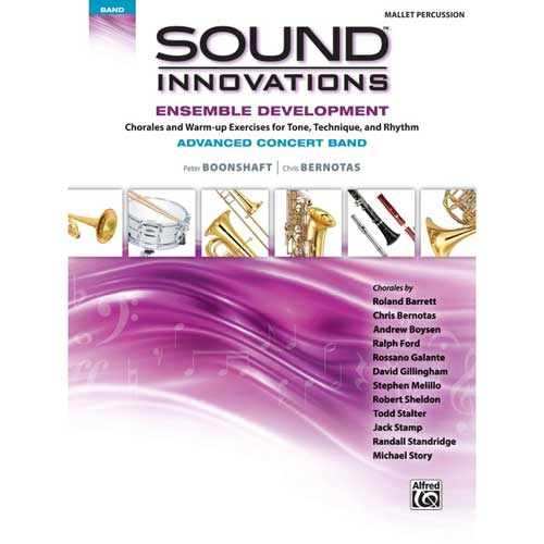 Sound Innovations for Advanced Band Mallet Percussion