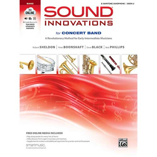 Sound Innovations for Concert Band Bari Saxophone 2