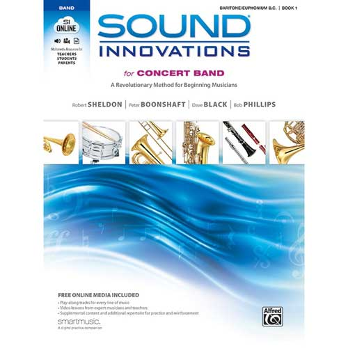 Sound Innovations for Concert Band Baritone BC Bk 1