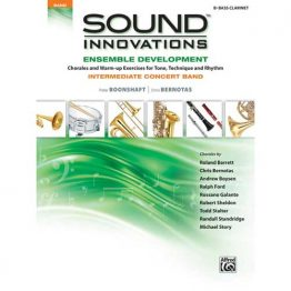 Sound Innovations for Intermediate Band Bass Clarinet