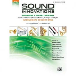 Sound Innovations for Intermediate Band Tenor Sax