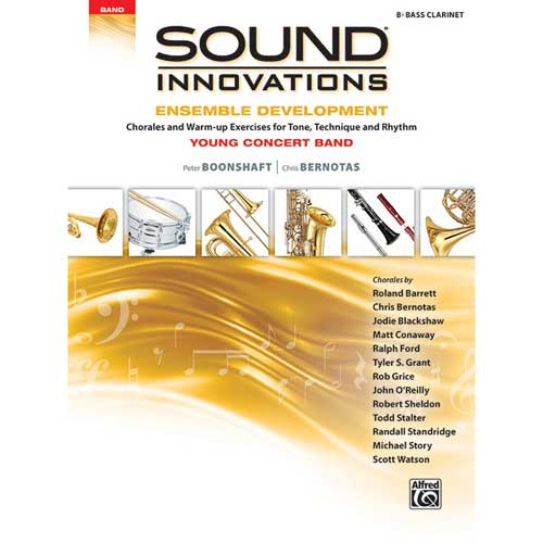 Sound Innovations for Young Concert Band Bass Clarinet
