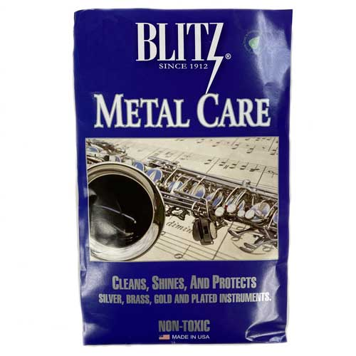 Blitz Silver Polishing Cloth