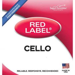 Red Label Cello String Set