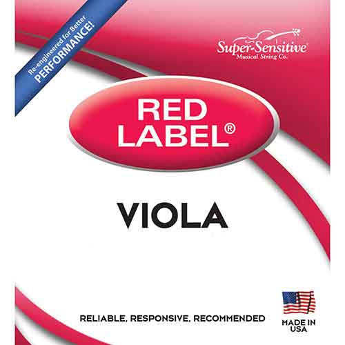 Red Label Viola String Set