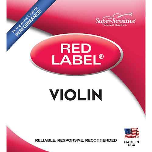 Red Label Violin String Set