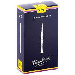 Vandoren Clarinet 2.5 Reeds