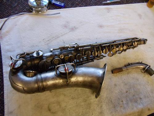Saxophone Restoration Process