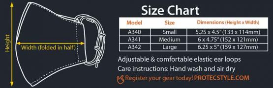 Instrument Mask Sizing Chart
