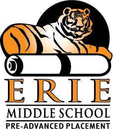 Erie Middle School Logo
